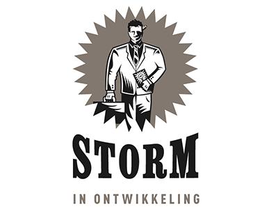 Logo Storm in Ontwikkeling